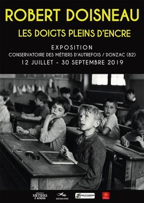 """""""LES DOIGTS PLEIN D'ENCRE"""" DE ROBERT DOISNEAU #Donzac @ Conservatoire des Métiers d'Autrefois"""