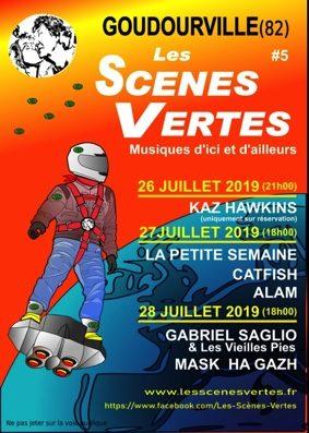 FESTIVAL LES SCENES VERTES - MUSIQUES D'ICI & D'AILLEURS #Goudourville