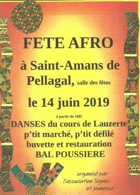 FÊTE AFRO #Saint-Amans-de-Pellagal @ Salle des fêtes