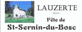 FÊTE DE ST SERNIN #Lauzerte @ Eglise de St Sernin