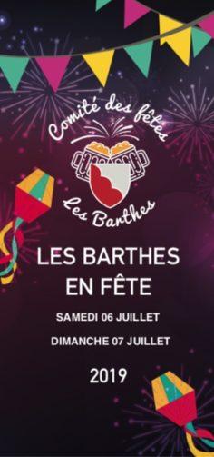 FÊTE LOCALE #Les Barthes @ centre ville