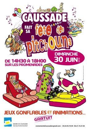 FETE DES PITCHOUNS #Caussade @ Promenades - Centre ville