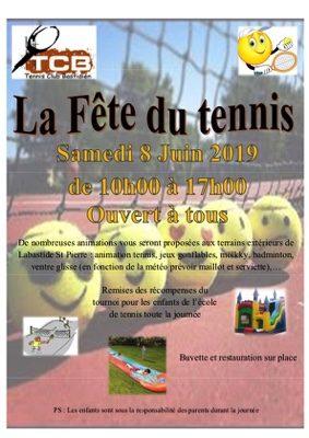 FETE DU TENNIS #Labastide-Saint-Pierre @ Stade municipal