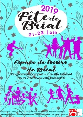 FÊTE VOTIVE ET DE LA MUSIQUE DE BRIAL #Bressols @ Espace de loisirs de Brial