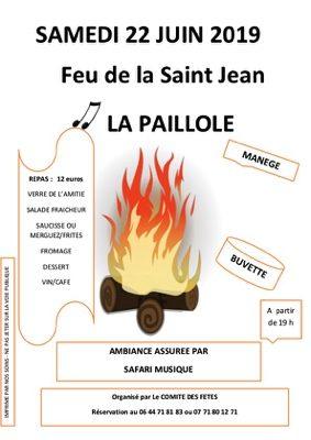 FEU DE LA SAINT JEAN #Albefeuille-Lagarde @ La Paillole