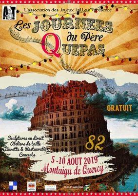 JOURNÉES DU PÈRE QUÉPAS #Montaigu-de-Quercy @ Place Mercadiel