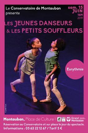 LES JEUNES DANSEURS ET LES PETITS SOUFFLEURS #Montauban @ Eurythmie