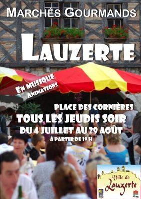 MARCHÉ GOURMAND NOCTURNE #Lauzerte