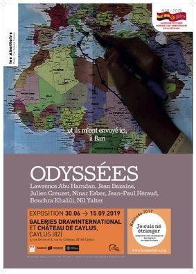 ODYSSÉES #Caylus @ Galeries DRAWinternational Caylus