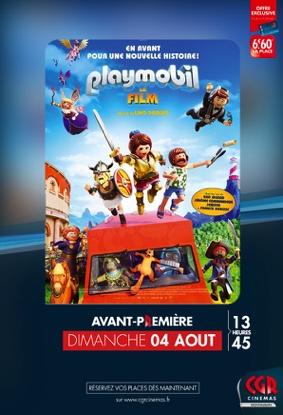PLAYMOBIL, LE FILM en Avant-Première #Montauban @ CGR MONTAUBAN