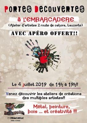 PORTES OUVERTES #Lauzerte @ L'Embarcadère