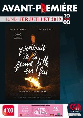 AVANT-PREMIÈRE PORTRAIT DE LA JEUNE FILLE EN FEU #Montauban @ Cinéma CGR Le Paris