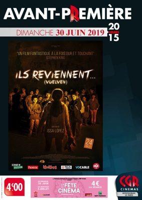 AVANT-PREMIÈRE ILS REVIENNENT... #Montauban @ Cinéma CGR Le Paris