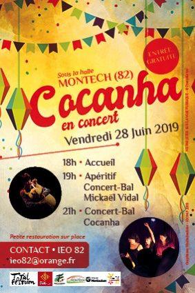 TOTAL FESTUM AVEC COCANHA #Montech @ Halle de Montech
