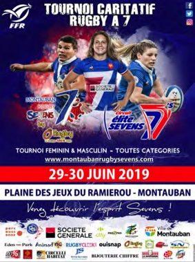 TOURNOI CARITATIF RUGBY À 7 #Montauban @ Ramierou