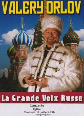 VALERY ORLOV - LA GRANDE VOIX RUSSE #Lauzerte @ Eglise St Bathélémy