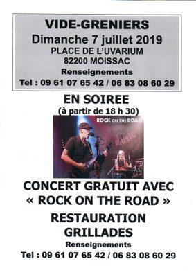 VIDE GRENIERS #Moissac @ Place de l'Uvarium