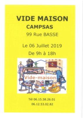 VIDE MAISON #Campsas @ Le Bourg