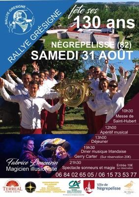 130 DU RALLYE GRESIGNE #Nègrepelisse @ Chateau de Nègrepelisse