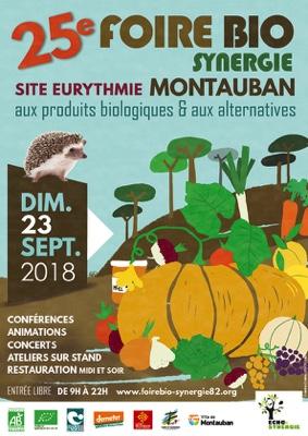 26ème FOIRE BIO-SYNERGIE #Montauban @ Site EURYTHMIE