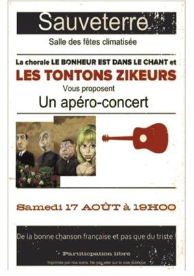 APERO-CONCERT #Sauveterre @ Salle des Fêtes