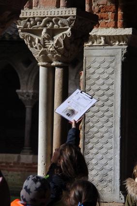 APREM' PATRIMOINE - JEU DE PISTE #Moissac @ Abbaye de Moissac