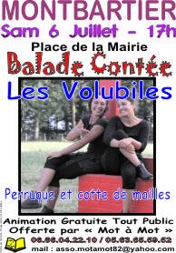 BALADE CONTÉE #Montbartier @ Parvis de l'Eglise