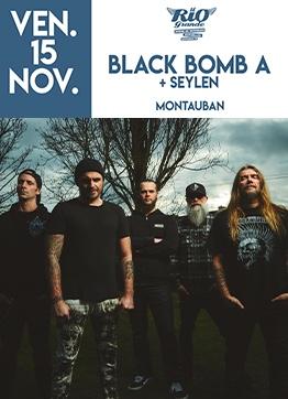 BLACK BOMB A + SEYLEN #Montauban @ LE RIO GRANDE