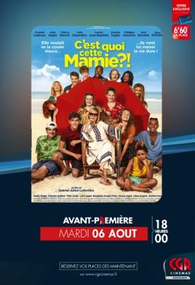 C'EST QUOI CETTE MAMIE! ? EN AVANT-PREMIÈRE #Montauban @ CGR MONTAUBAN