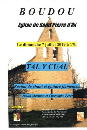 CONCERT DE JUILLET #Boudou @ Chapelle