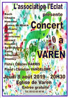 CONCERT DE MUSIQUE CLASSIQUE #Varen @ Eglise de Varen