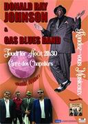 DONALD RAY JOHNSON ET GAS BLUES BAND #Caussade @ Carré des Chapeliers