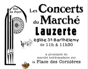 LES CONCERTS DU MARCHÉ #Lauzerte @ Eglise St Barthélémy