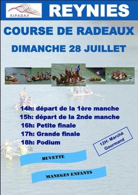 COURSE DE RADEAUX #Reyniès @ sur le Tarn