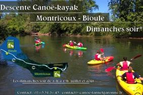 DESCENTE CANOË-KAYAK #Montricoux @ Montricoux