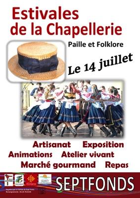 ESTIVALES DE LA CHAPELLERIE #Septfonds @ Coeur du Village / Salle des Fêtes