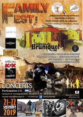 FAMILY FEST 2019 #Bruniquel @ Château de Bruniquel