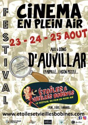 FESTIVAL DE CINEMA EN PLEIN AIR #Auvillar @ Port, place du Château, parvis de l'église
