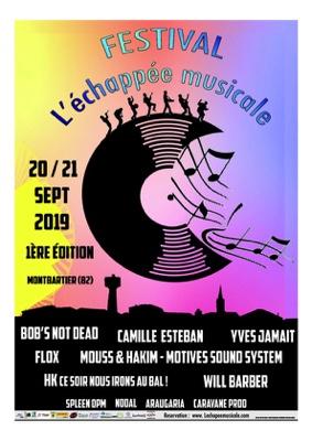 FESTIVAL L'ÉCHAPPÉE MUSICALE #Montbartier @ Salle des Fêtes