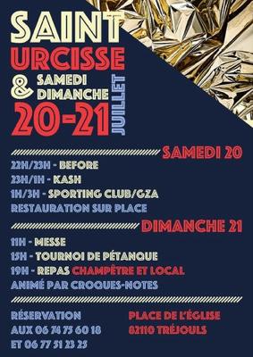 FÊTE À SAINT-URCISSE #Tréjouls @ St Urcisse