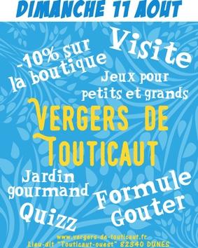 FÊTE AUX VERGERS DE TOUTICAUT #Dunes @ Vergers de Touticaut