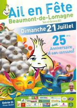 FÊTE DE L'AIL : 25ème ÉDITION #Beaumont-de-Lomagne @ Halle