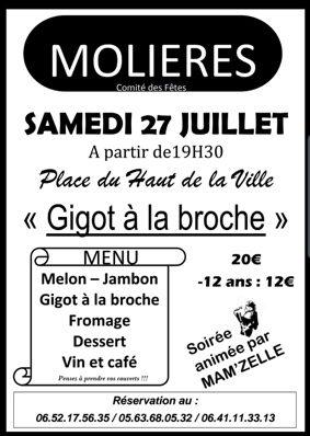 FÊTE DU HAUT DE LA VILLE #Molières @ Place du haut de la ville
