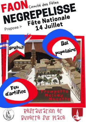 FÊTE NATIONALE : 14 JUILLET #Nègrepelisse