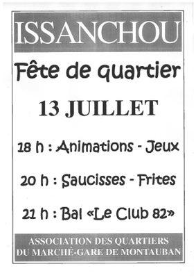 GRANDE FÊTE DU QUARTIER #Montauban @ Maison de quartier Issanchou