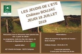 LES JEUDIS DE L'ÉTÉ #Campsas @ Boujac