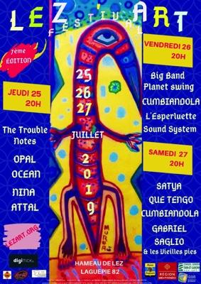 LEZ'ART FESTIVAL 2019 #Laguépie @ Hameau de Lez