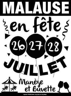 MALAUSE EN FÊTE #Malause @ Place