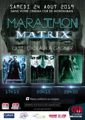 MARATHON MATRIX #Montauban @ CGR MONTAUBAN