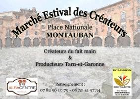 MARCHÉ ESTIVAL DE CRÉATEUR #Montauban @ Place Nationale